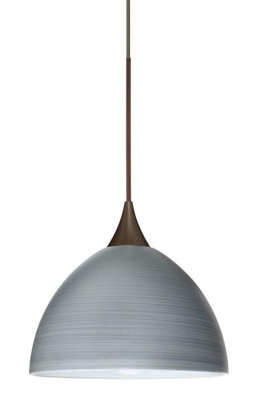 Besa Lighting 1XT-4679TN Brella 1 Light Halogen Cord-Hung Mini Pendant