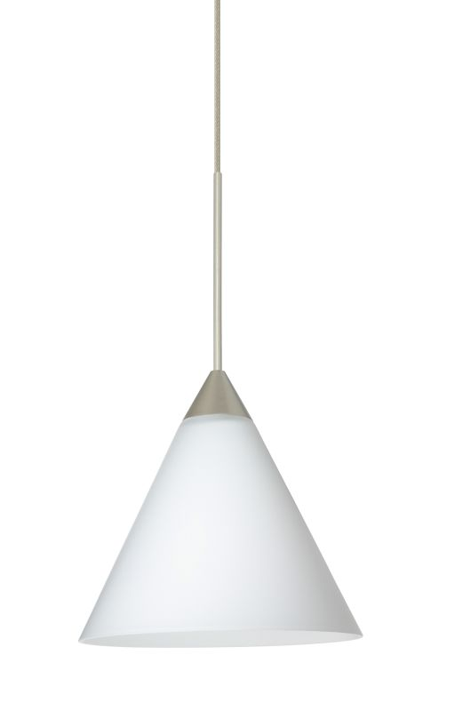 besa lighting 1xt512107 kani 1 light halogen cordhung mini pendant - Besa Lighting