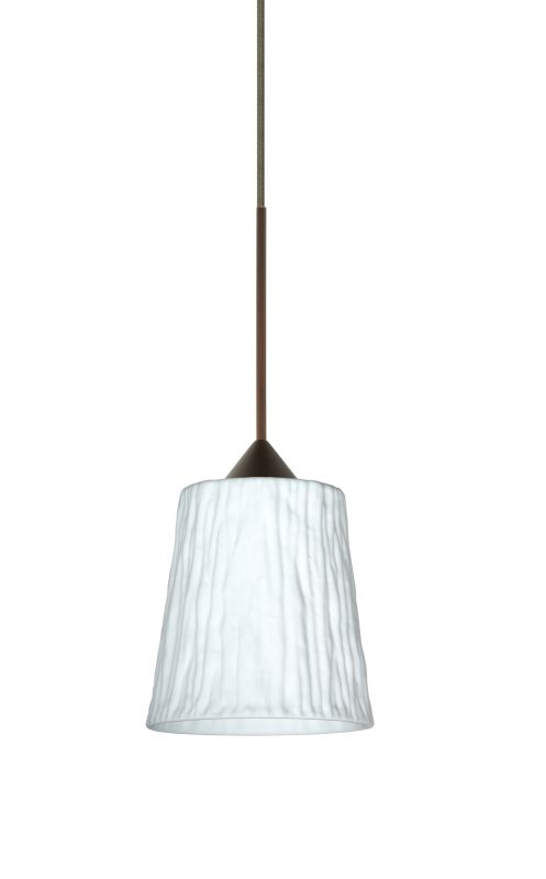 Besa Lighting 1XT-5125OS-LED Nico 1 Light LED Cord-Hung Mini Pendant