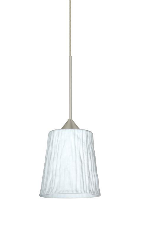 Besa Lighting 1XT-5125OS-LED Nico 1 Light LED Cord-Hung Mini Pendant