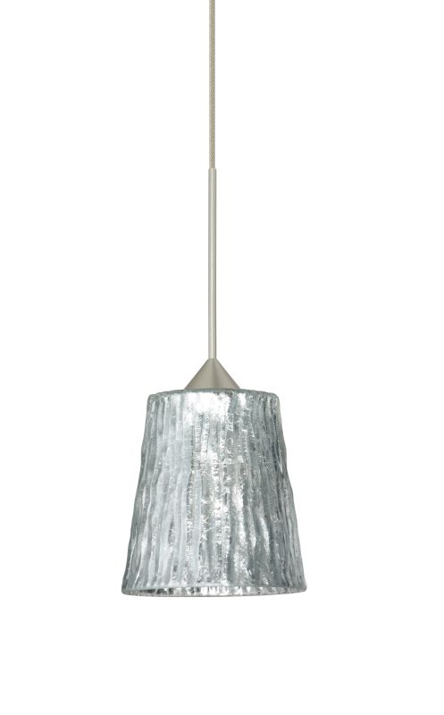 Besa Lighting 1XT-5125SF Nico 1 Light Halogen Cord-Hung Mini Pendant