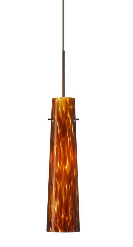 Besa Lighting 1XT-567418-LED Camino 1 Light LED Cord-Hung Mini Pendant