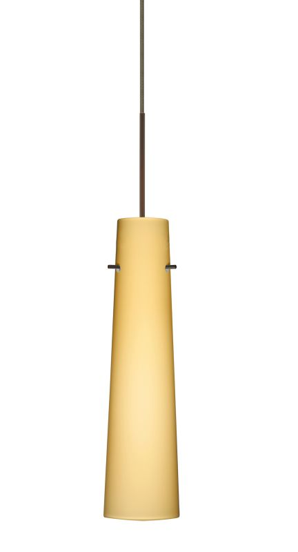 Besa Lighting 1XT-5674VM-LED Camino 1 Light LED Cord-Hung Mini Pendant