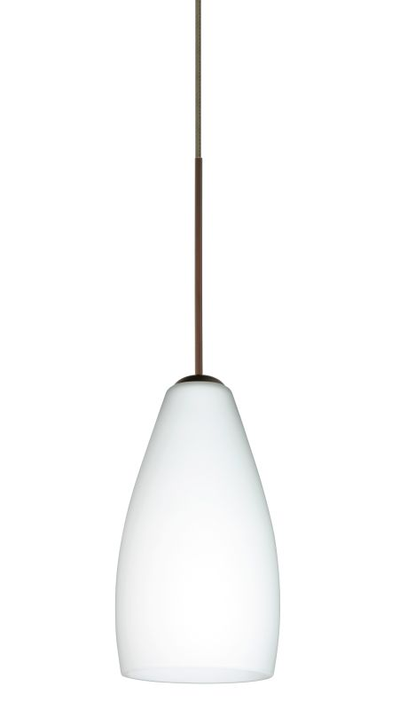 Besa Lighting 1XT-719807-LED Karli 1 Light LED Cord-Hung Mini Pendant