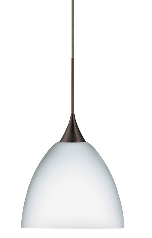 Besa Lighting 1XT-757007 Sasha 1 Light Halogen Cord-Hung Mini Pendant
