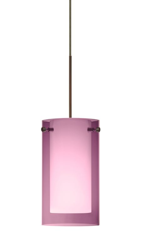 Besa Lighting 1XT-A44007 Pahu 1 Light Halogen Cord-Hung Mini Pendant