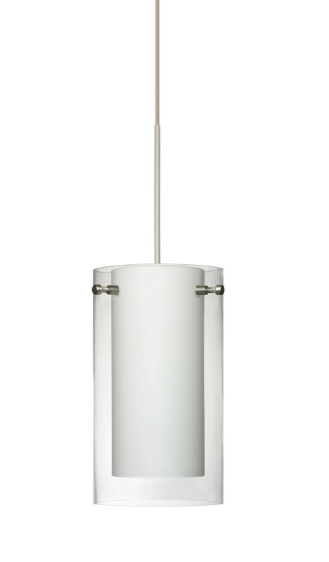 Besa Lighting 1XT-C44007-LED Pahu 1 Light LED Cord-Hung Mini Pendant