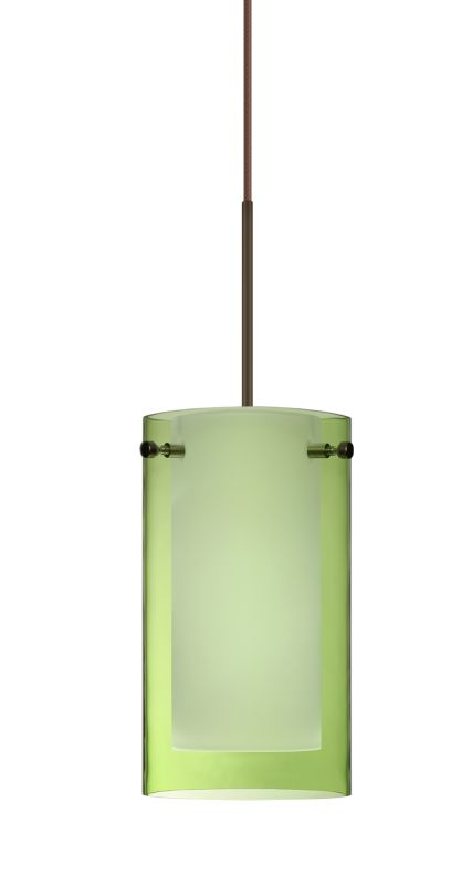 Besa Lighting 1XT-L44007 Pahu 1 Light Halogen Cord-Hung Mini Pendant