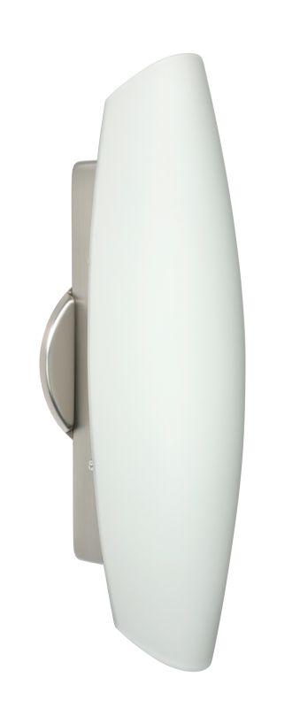 Besa Lighting 272807 Aero 2 Light ADA Compliant Wall Sconce with Opal