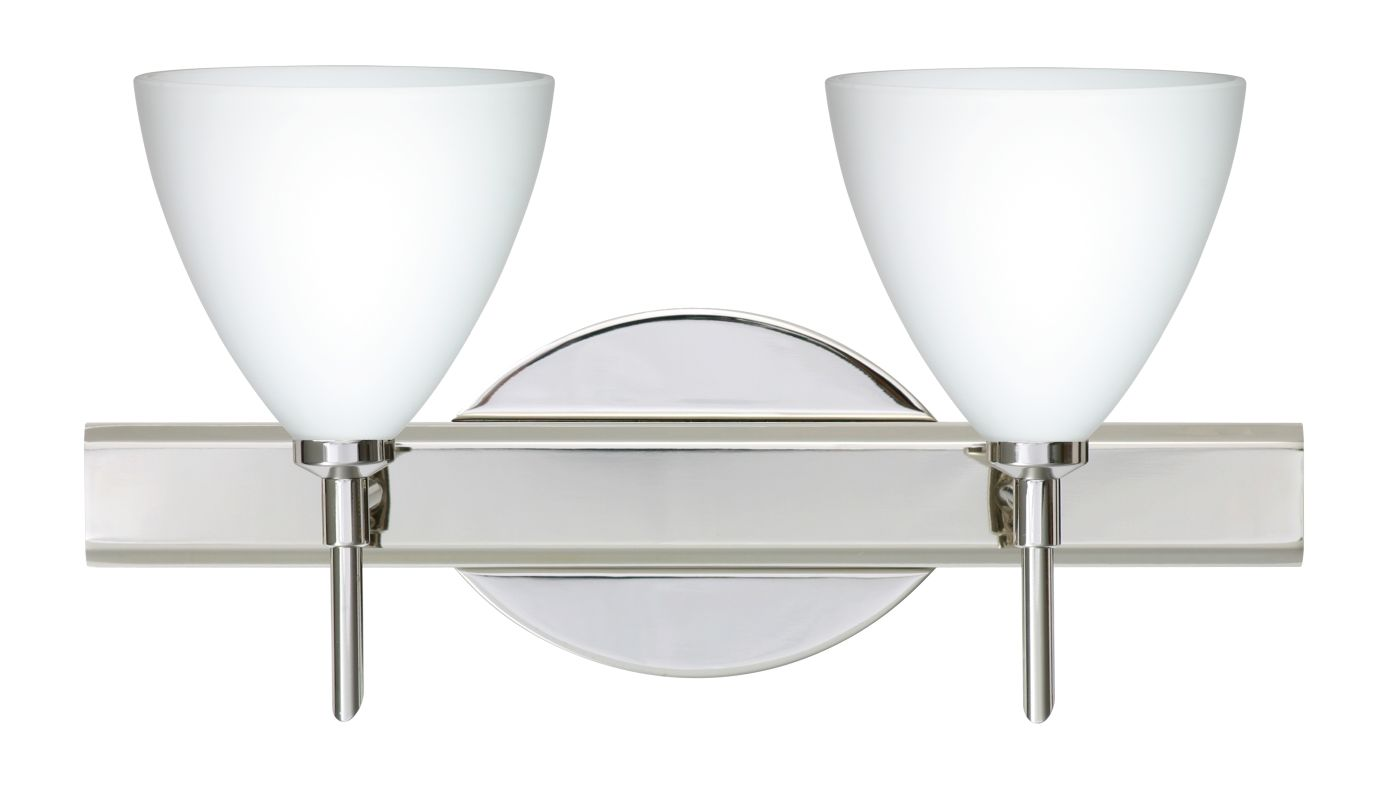 Besa Lighting 2SW-177907 Mia 2 Light Reversible Halogen Bathroom