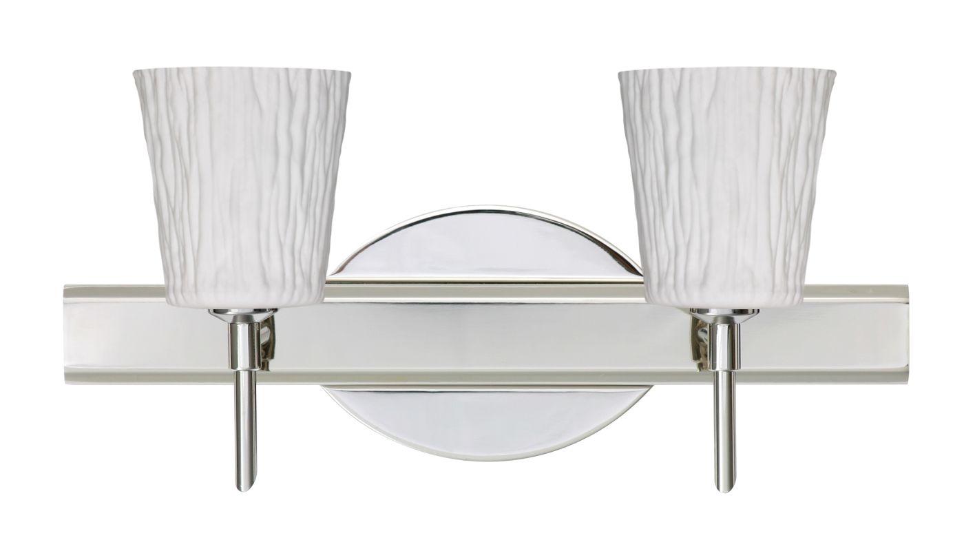 Besa Lighting 2SW-5125OS Nico 2 Light Reversible Halogen Bathroom