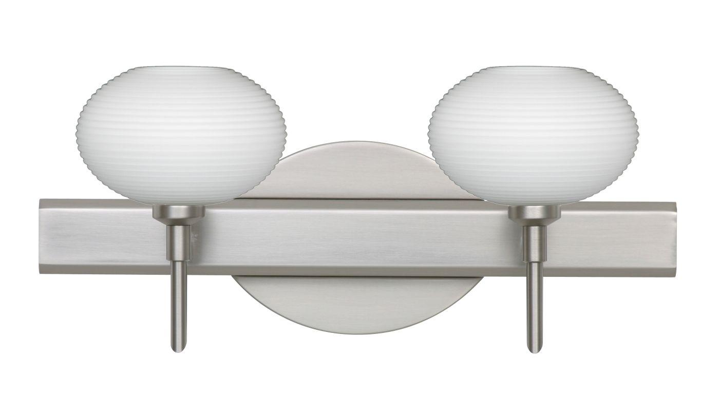 Besa Lighting 2SW-561207 Lasso 2 Light Reversible Halogen Bathroom