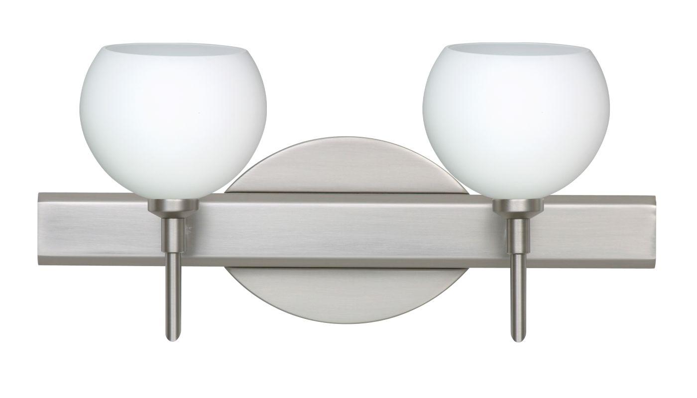 Besa Lighting 2SW-565807 Palla 2 Light Reversible Halogen Bathroom Sale $288.00 ITEM: bci2383469 ID#:2SW-565807-SN UPC: 767893719623 :