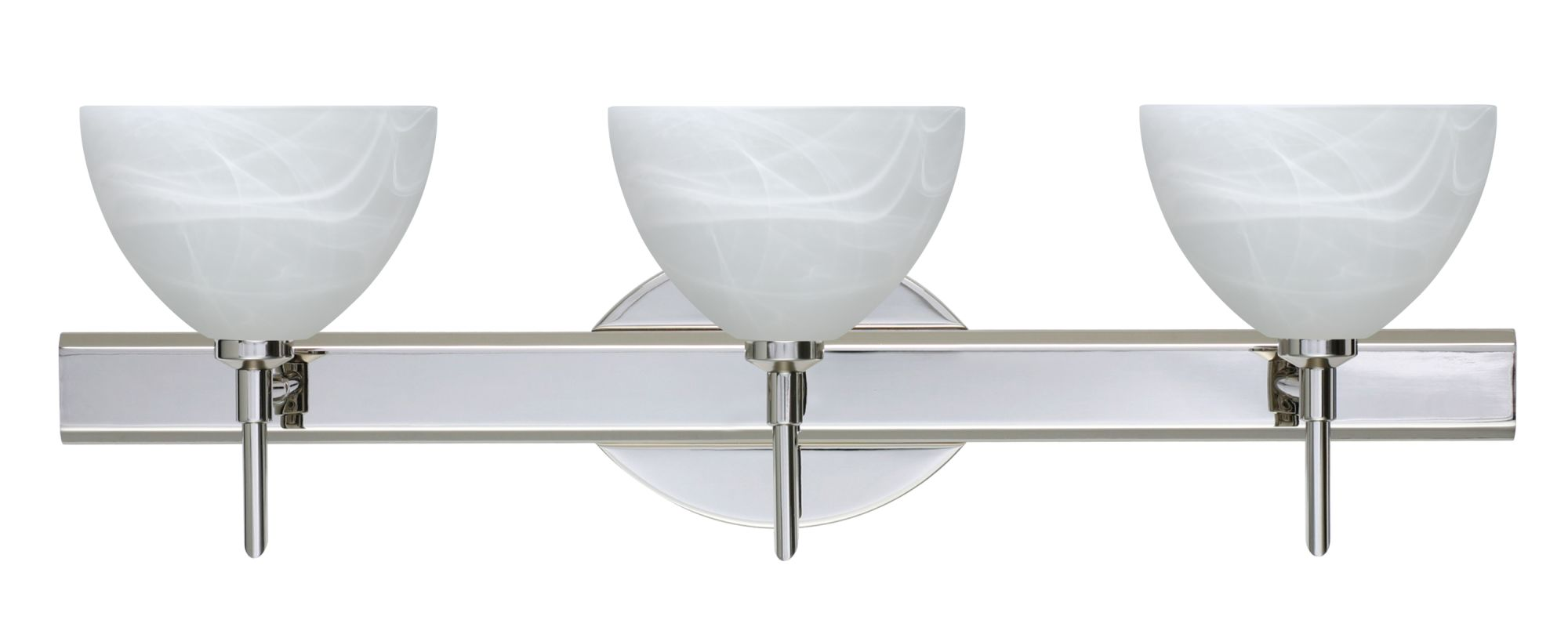 Besa Lighting 3SW-467952 Brella 3 Light Reversible Halogen Bathroom Sale $373.50 ITEM: bci2384329 ID#:3SW-467952-CR UPC: 767893910136 :