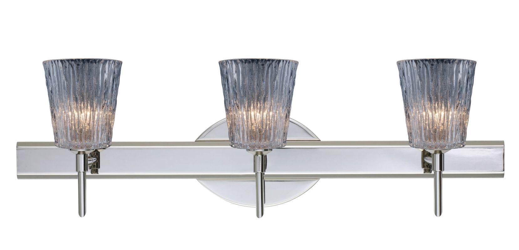 Besa Lighting 3SW-512500 Nico 3 Light Reversible Halogen Bathroom