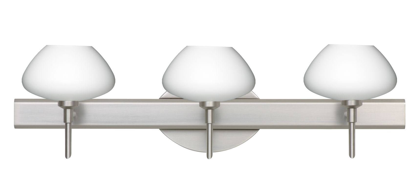 Besa Lighting 3SW-541007 Peri 3 Light Reversible Halogen Bathroom