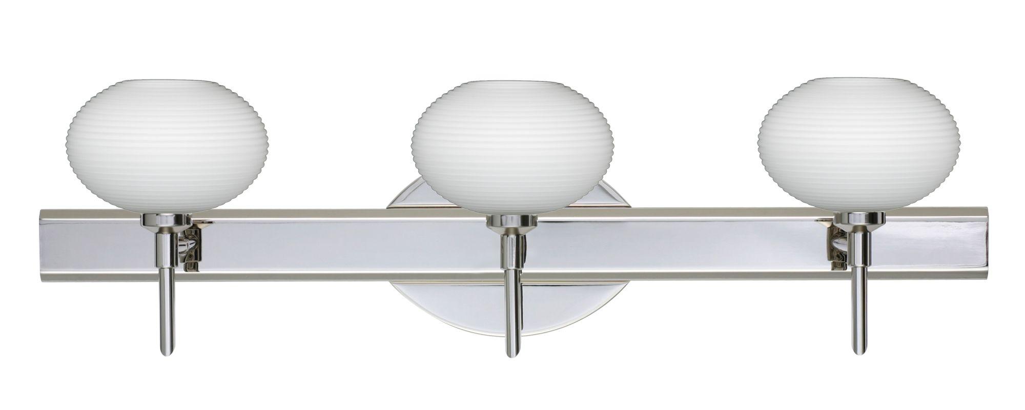 Besa Lighting 3SW-561207 Lasso 3 Light Reversible Halogen Bathroom