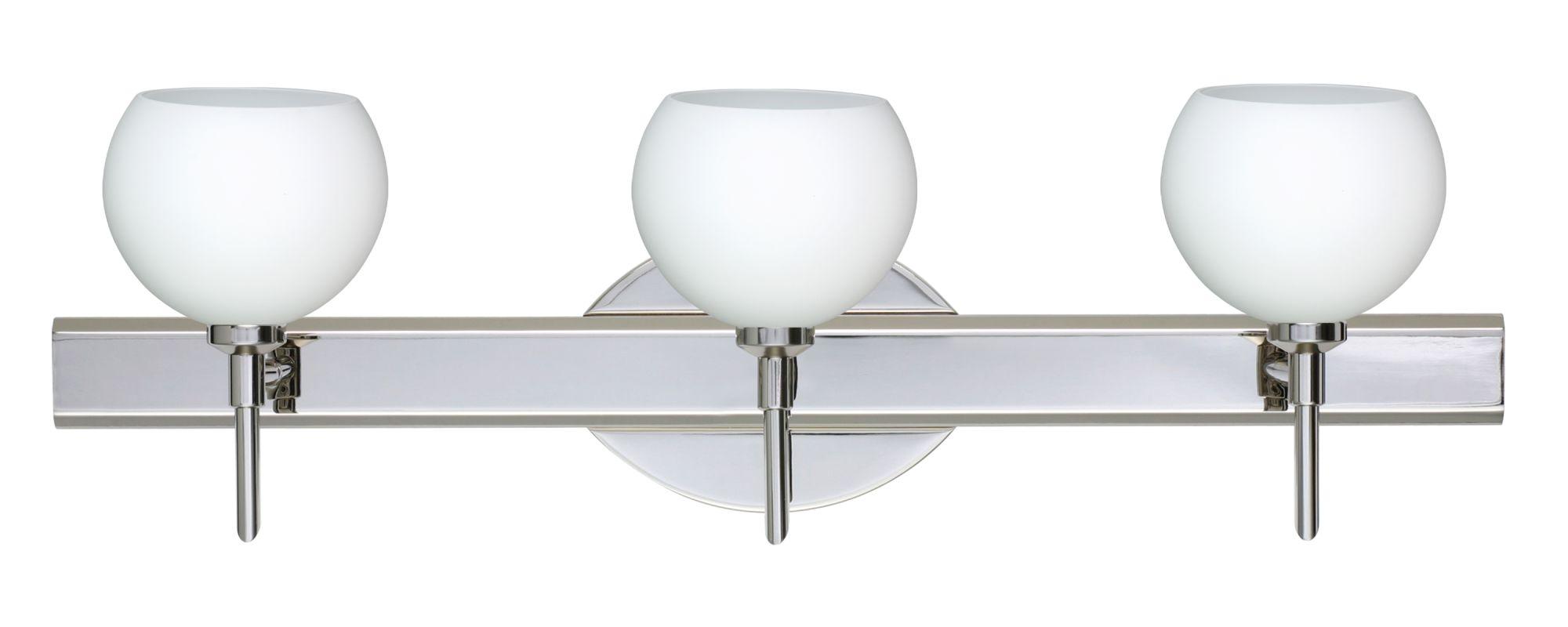 Besa Lighting 3SW-565807 Palla 3 Light Reversible Halogen Bathroom