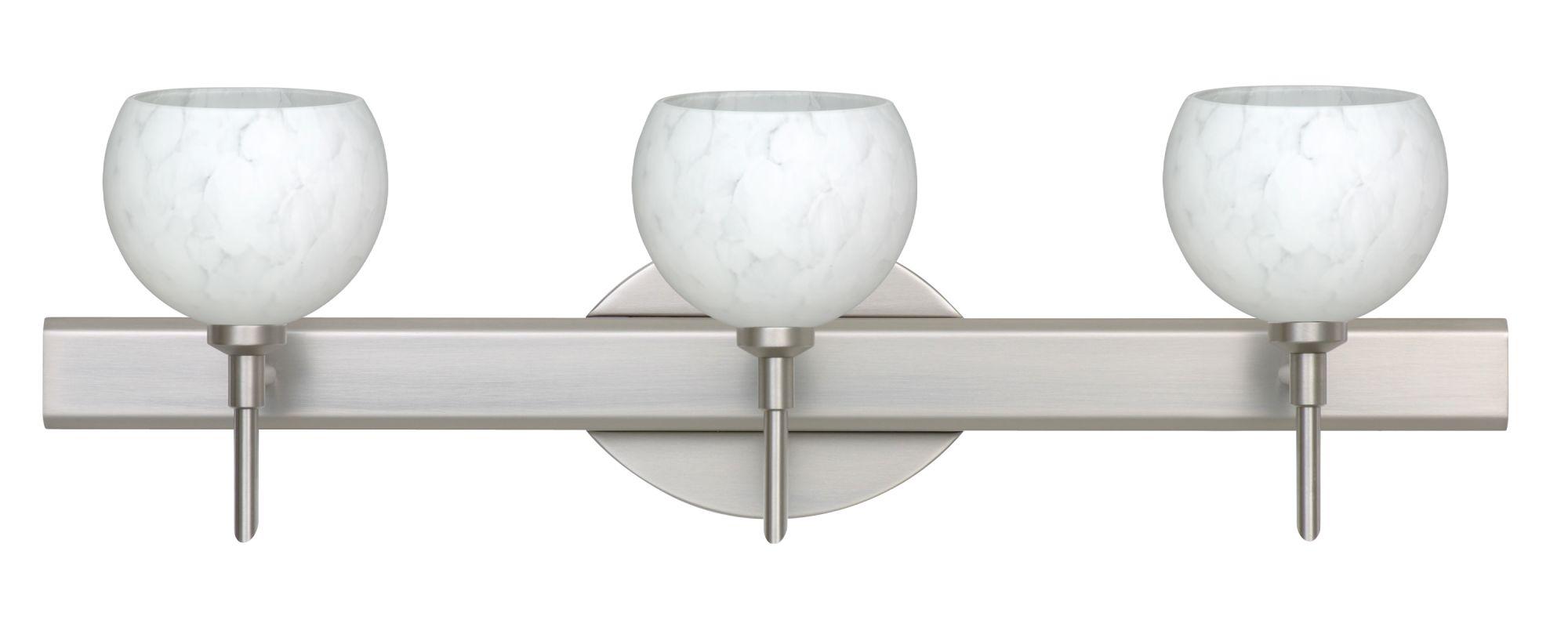 Besa Lighting 3SW-565819 Palla 3 Light Reversible Halogen Bathroom Sale $436.50 ITEM: bci2384755 ID#:3SW-565819-SN UPC: 767893747787 :