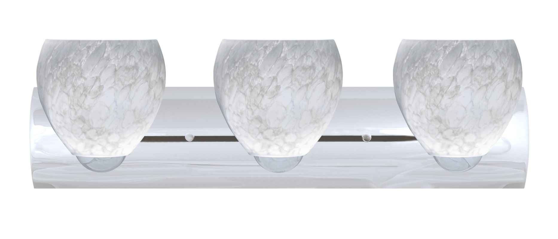 Besa Lighting 3WZ-412219-LED Bolla 3 Light Reversible LED Bathroom
