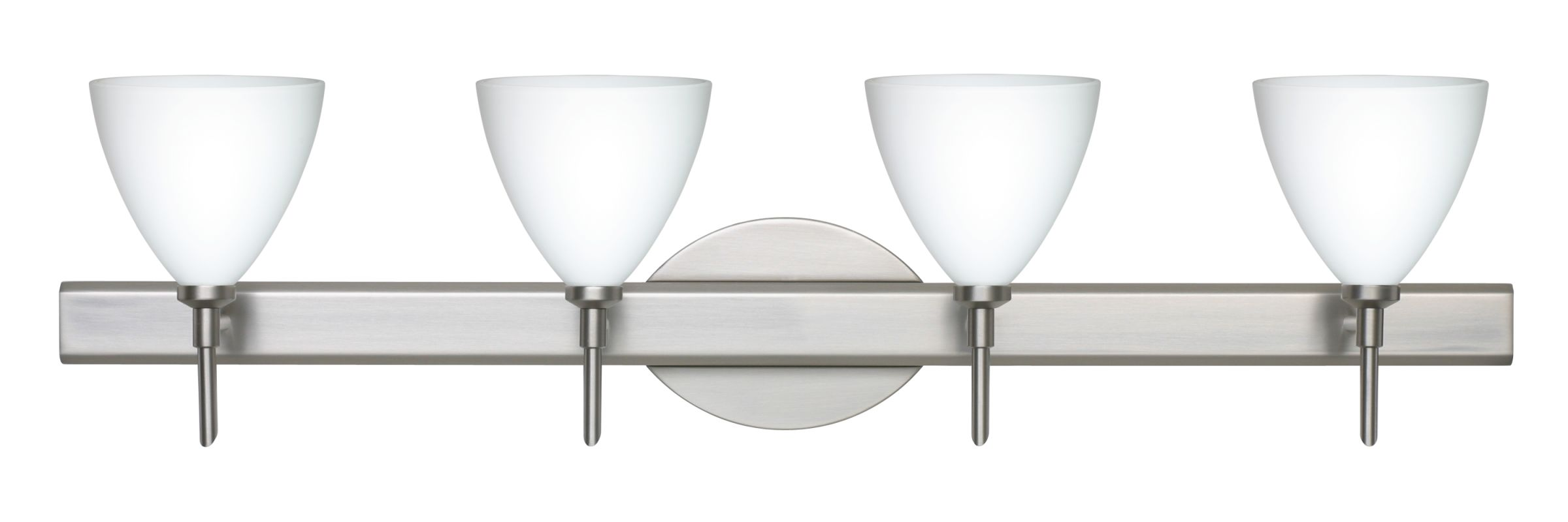 Besa Lighting 4SW-177907 Mia 4 Light Reversible Halogen Bathroom