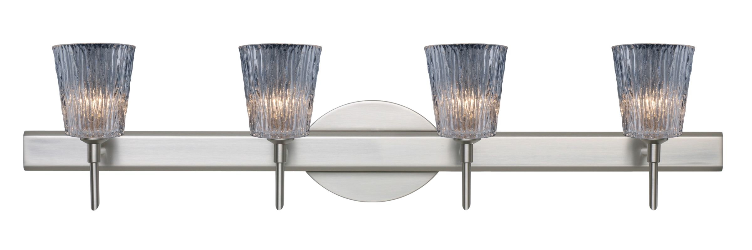 Besa Lighting 4SW-512500 Nico 4 Light Reversible Halogen Bathroom Sale $481.50 ITEM: bci2385737 ID#:4SW-512500-SN UPC: 767893994075 :