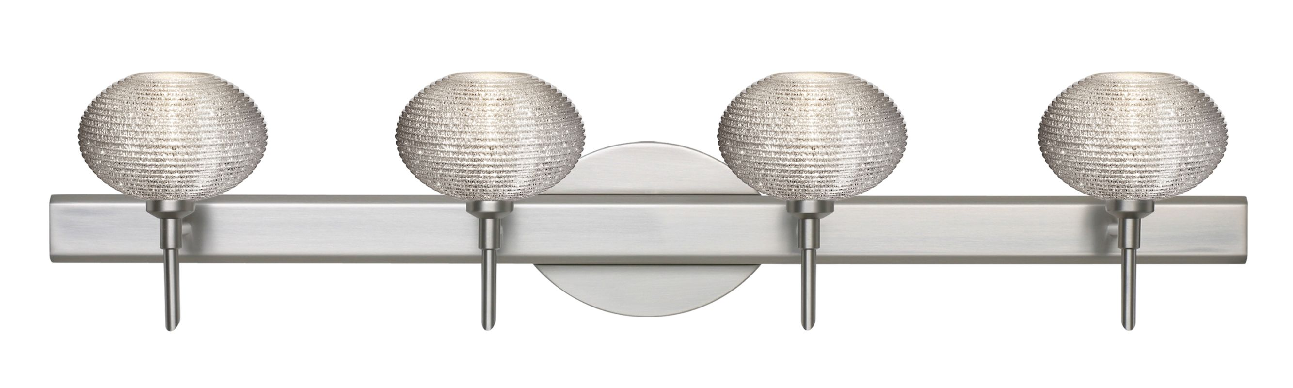 Besa Lighting 4SW-5612GL Lasso 4 Light Reversible Halogen Bathroom Sale $558.00 ITEM: bci2385985 ID#:4SW-5612GL-SN UPC: 767893823207 :
