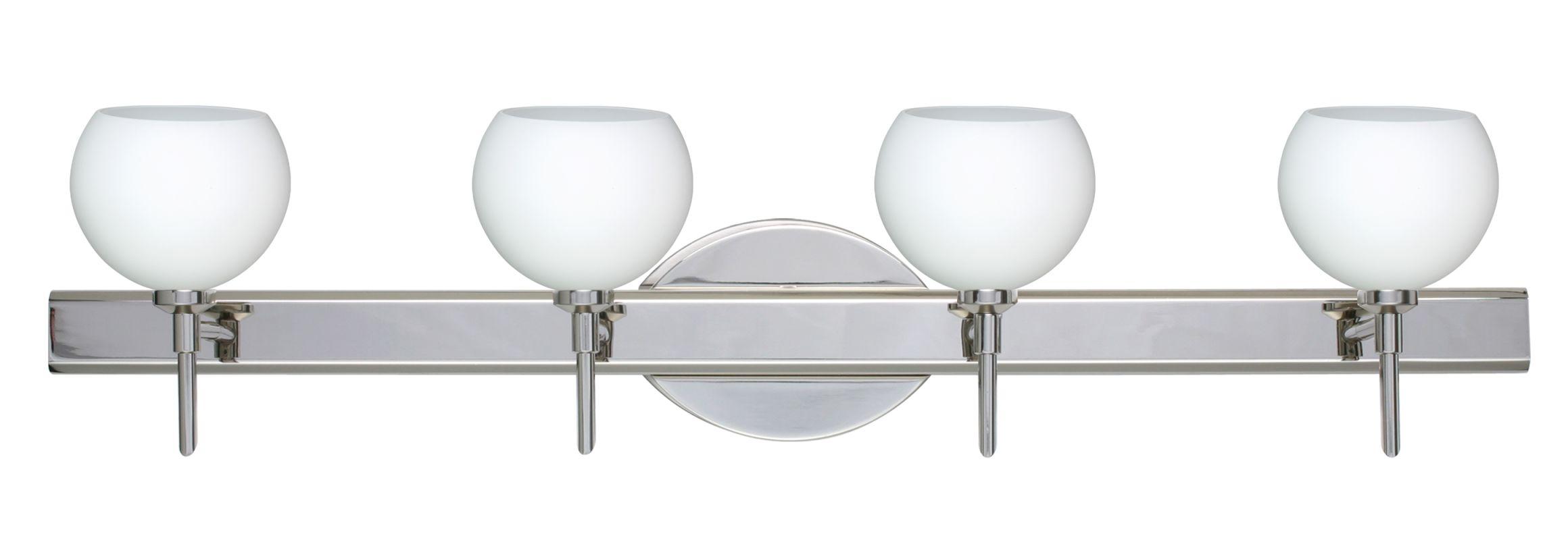Besa Lighting 4SW-565807 Palla 4 Light Reversible Halogen Bathroom