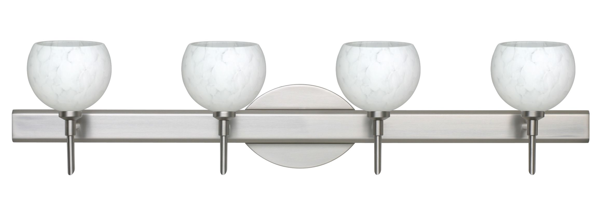 Besa Lighting 4SW-565819 Palla 4 Light Reversible Halogen Bathroom