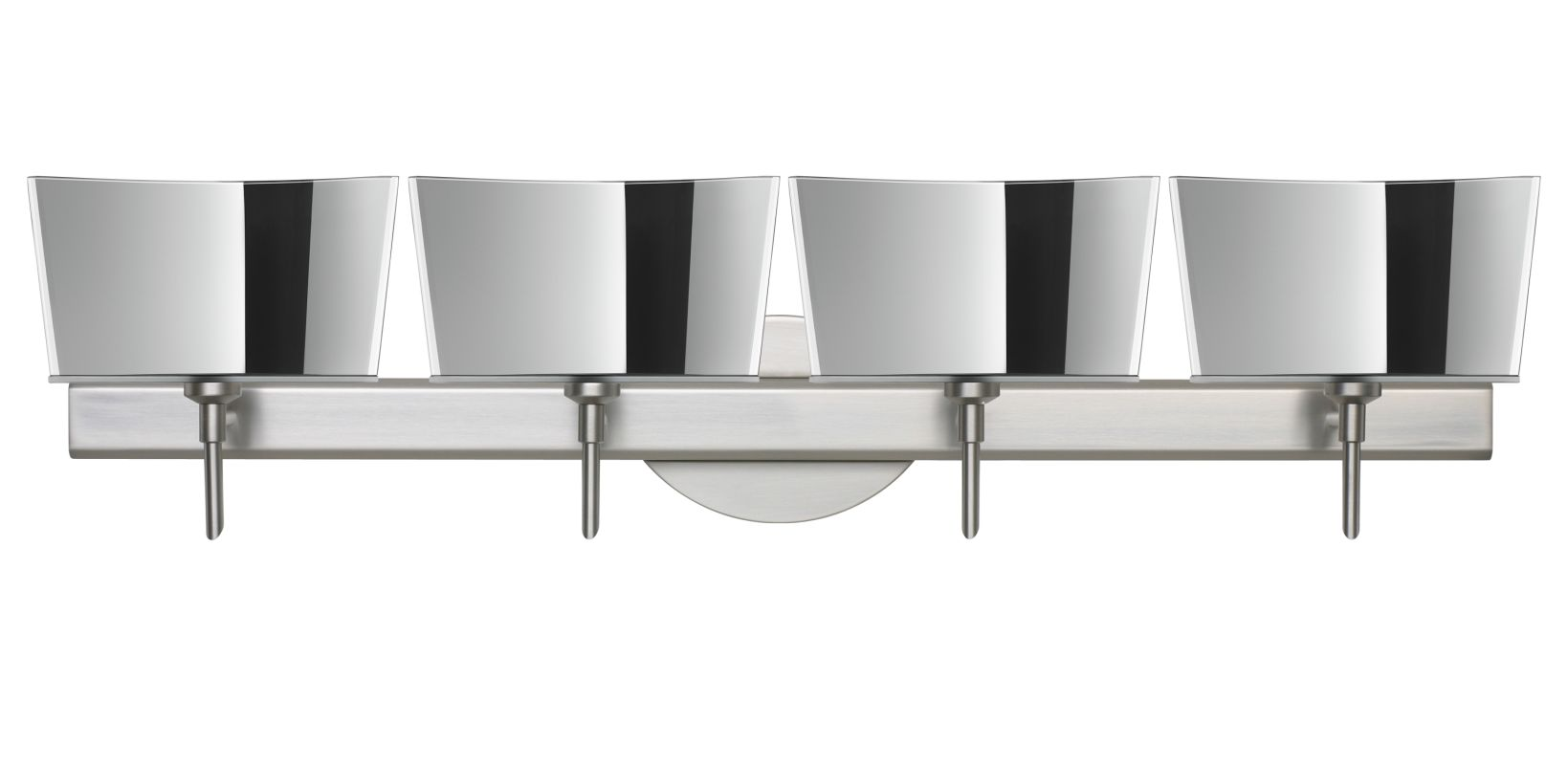 Besa Lighting 4SW-6773MR Groove 4 Light Reversible Halogen Bathroom Sale $976.50 ITEM: bci2386057 ID#:4SW-6773MR-SN UPC: 767893349165 :