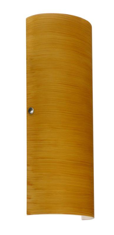 Besa Lighting 8193OK Torre 2 Light ADA Compliant Wall Sconce with Oak