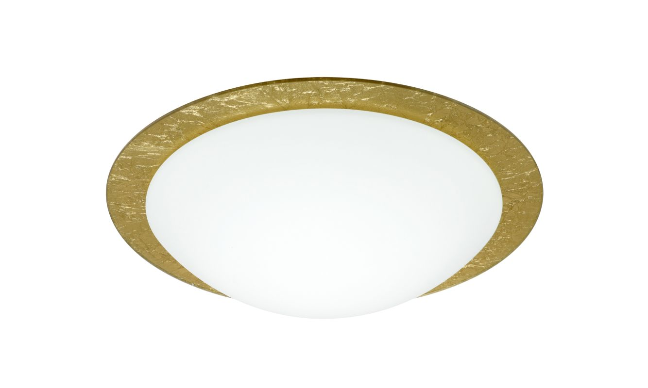 Besa Lighting 9772GFC Ring 1 Light Flush Mount Ceiling Fixture with Sale $157.50 ITEM: bci2387392 ID#:9772GFC UPC: 767893765019 :