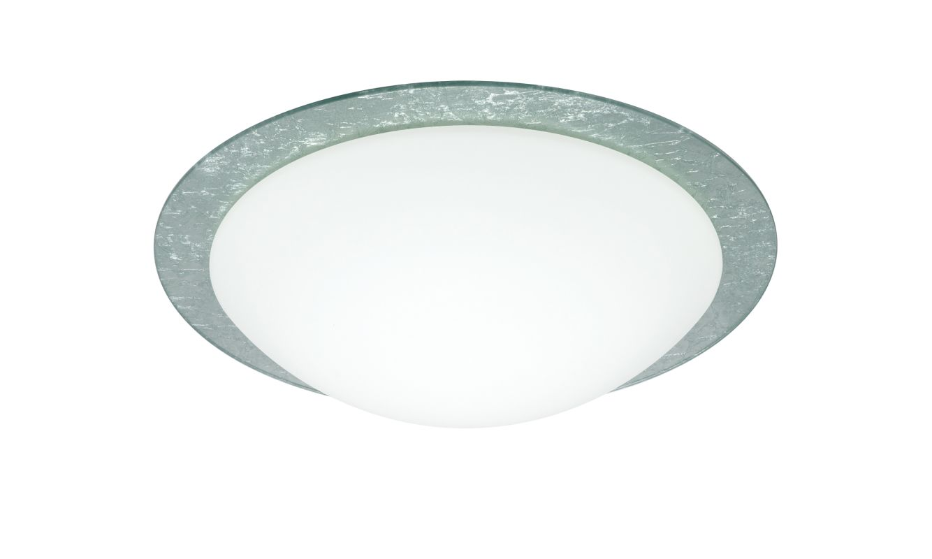 Besa Lighting 9772SFC Ring 1 Light Flush Mount Ceiling Fixture with Sale $157.50 ITEM: bci2387393 ID#:9772SFC UPC: 767893765033 :