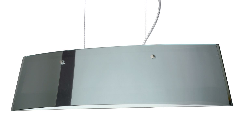 Besa Lighting LS3-4454MR Silhouette 3 Light Halogen Island Light with