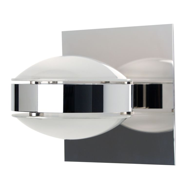 Besa Lighting OPTOS1W-FRFR Optos 1 Light Halogen Wall Sconce with