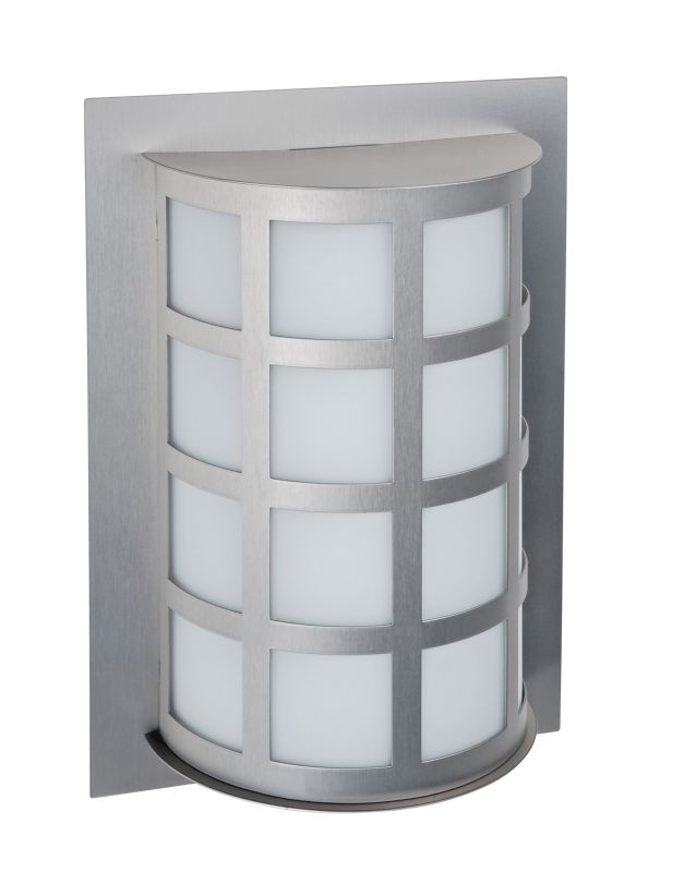 Besa Lighting SCALA13-WA Scala 1 Light Outdoor Wall Sconce with White