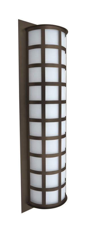 Besa Lighting SCALA28-WA Scala 3 Light Outdoor Wall Sconce with White