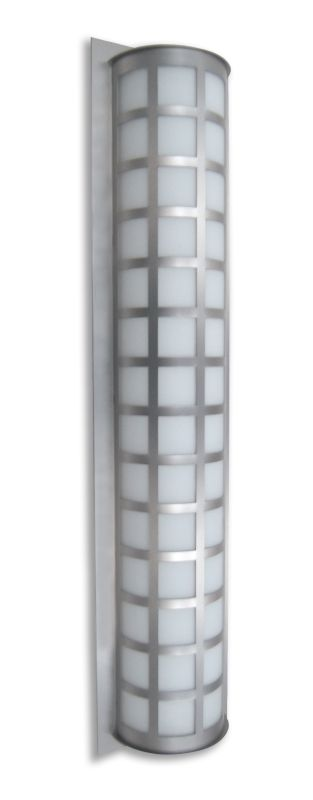 Besa Lighting SCALA40-WA Scala 3 Light Outdoor Wall Sconce with White