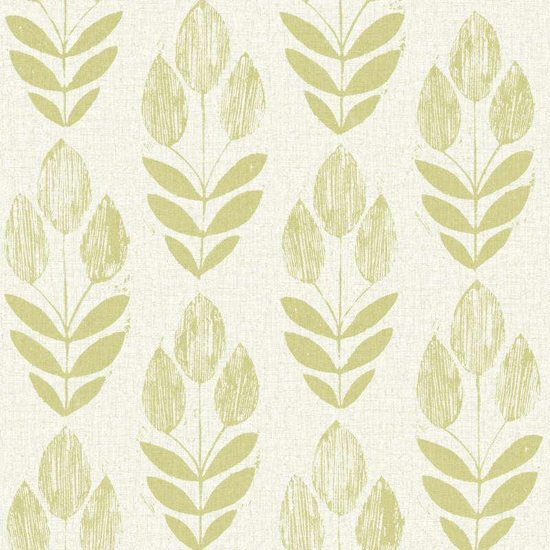 "Brewster 2535-20649-SAM 8""x 10"" Sample of 2535-20649 Green Wallpaper"