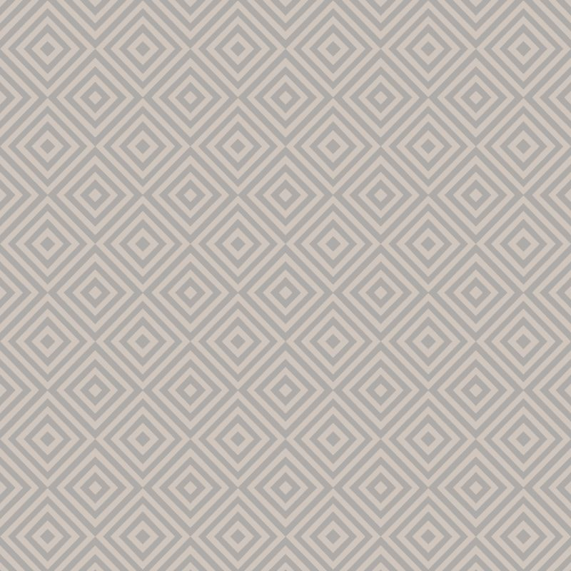 Brewster 2535-20658 Metropolitan Grey Geometric Diamond Wallpaper Grey