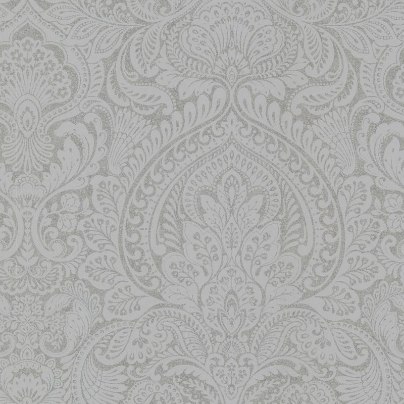"Brewster 2665-21409-SAM 8""x 10"" Sample of 2665-21409 Pewter Damask"