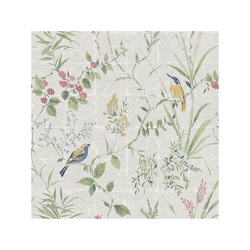 Brewster 2669-21400 Imperial Cream Garden Chinoiserie Wallpaper Cream