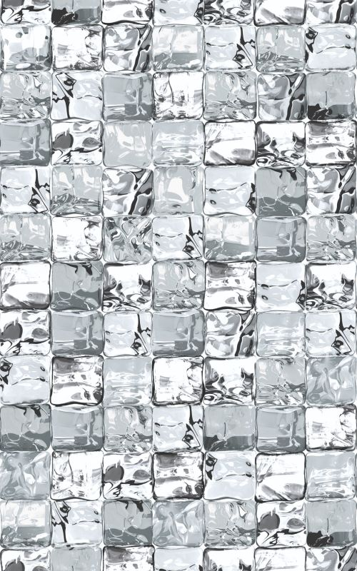 Brewster 334-0030 DC Fix 7.25 Square Foot Ice Cube Vinyl Window Film -