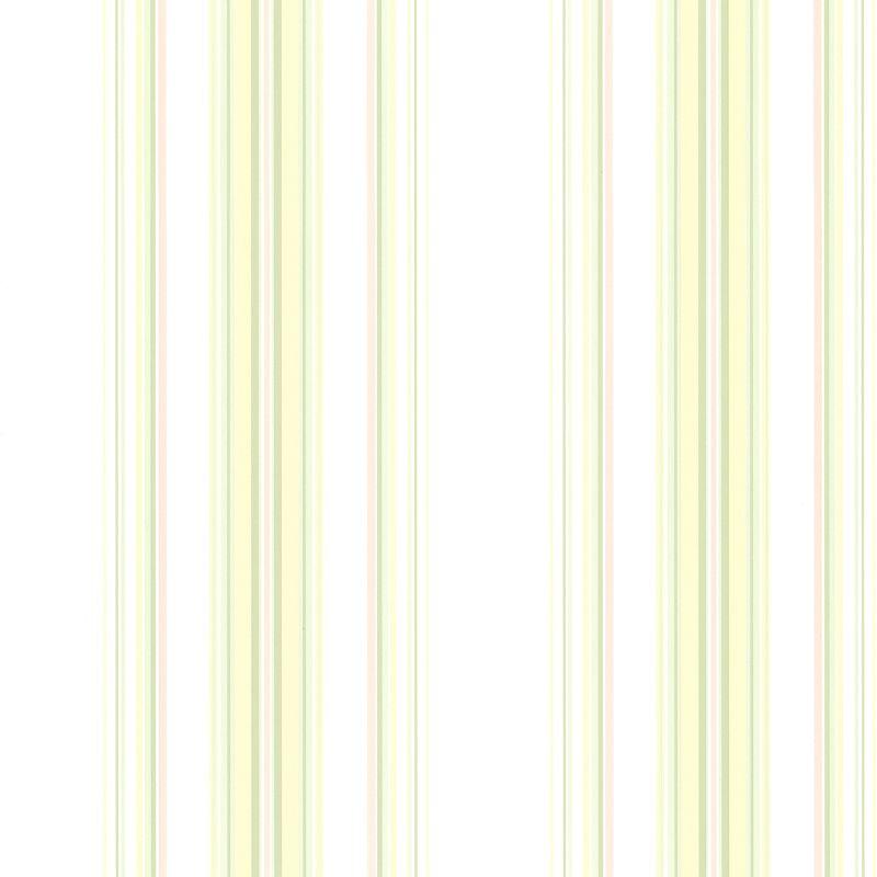 Brewster 344-68766 Lenna Yellow Jasmine Stripe Wallpaper Yellow Home