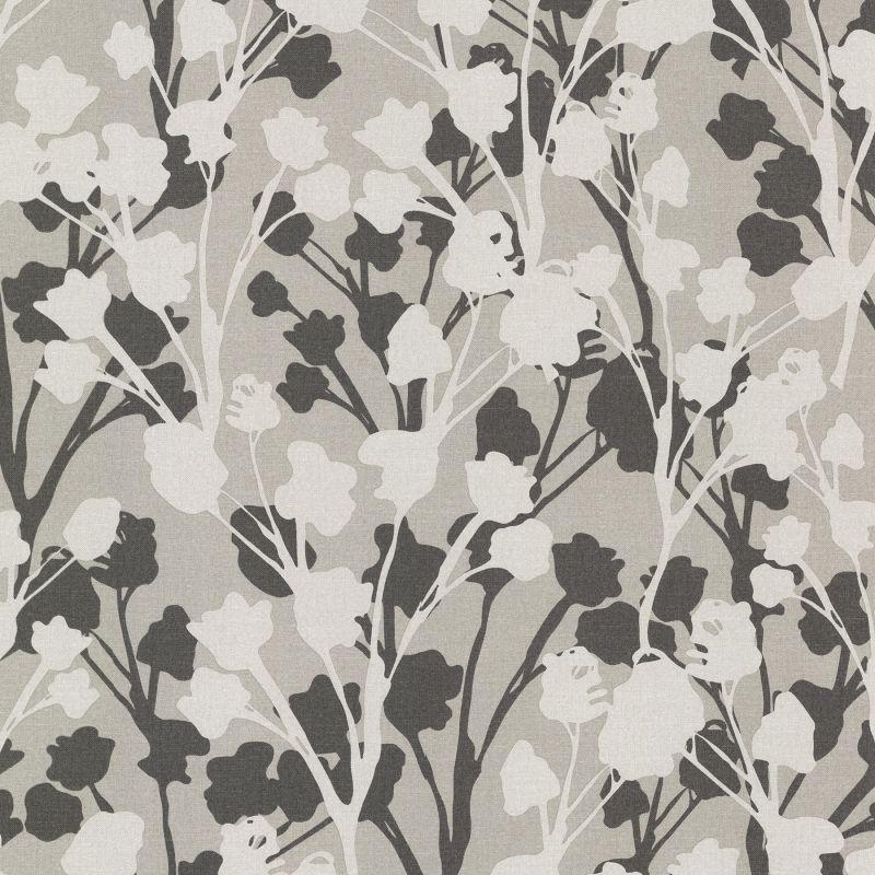 Brewster 347-20126 Lawson Black Botanical Silhouette Wallpaper Black