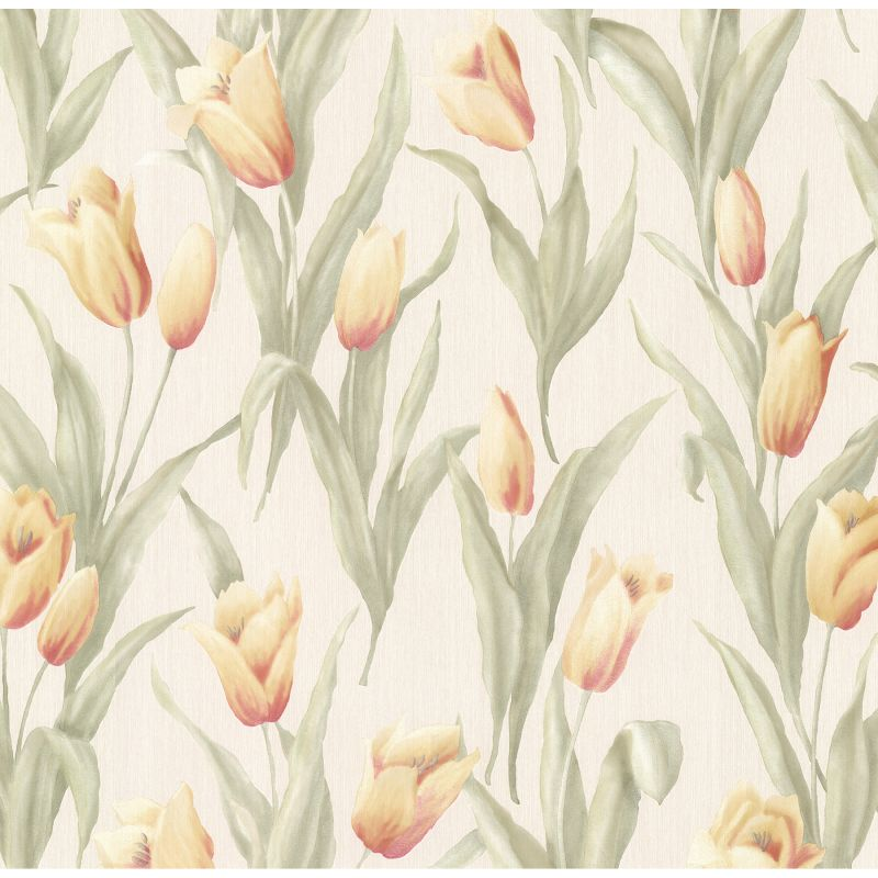 Brewster 347-20143 Denning Yellow Satin Tulip Texture Wallpaper Yellow Sale $71.98 ITEM: bci2516318 ID#:347-20143 UPC: 5011419201433 :