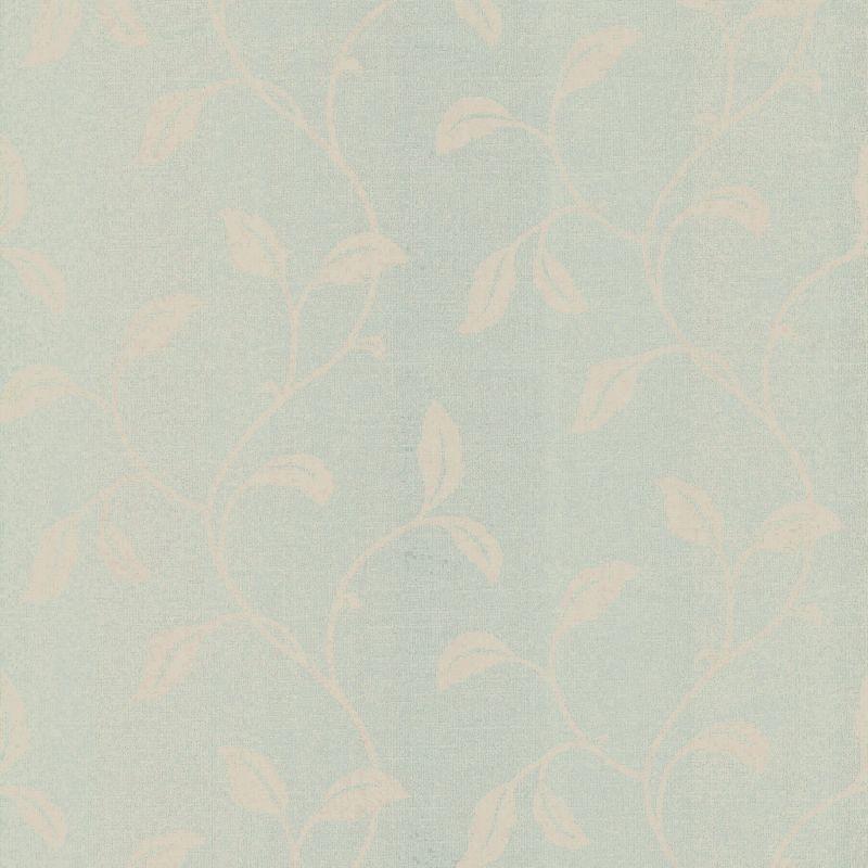 Brewster 347-55669 Hammett Green Textured Leaf Trail Wallpaper Green