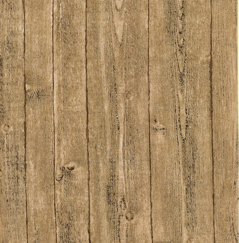 Brewster 412-56911 Ardennes Taupe Wood Panel Wallpaper Taupe Home
