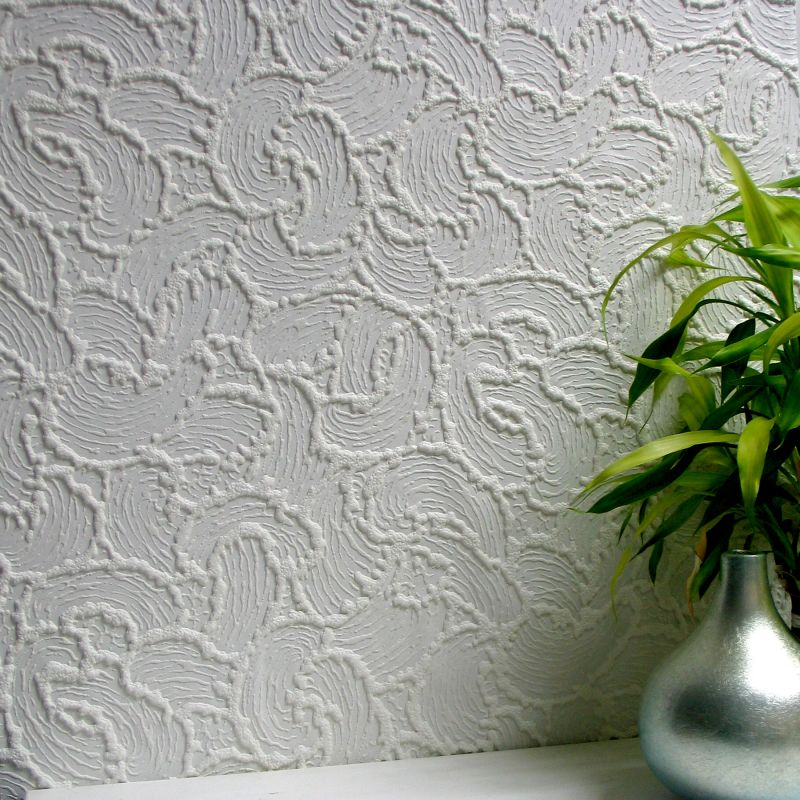 Brewster 437-RD920 Boyden Paintable Textured Vinyl Wallpaper Paintable