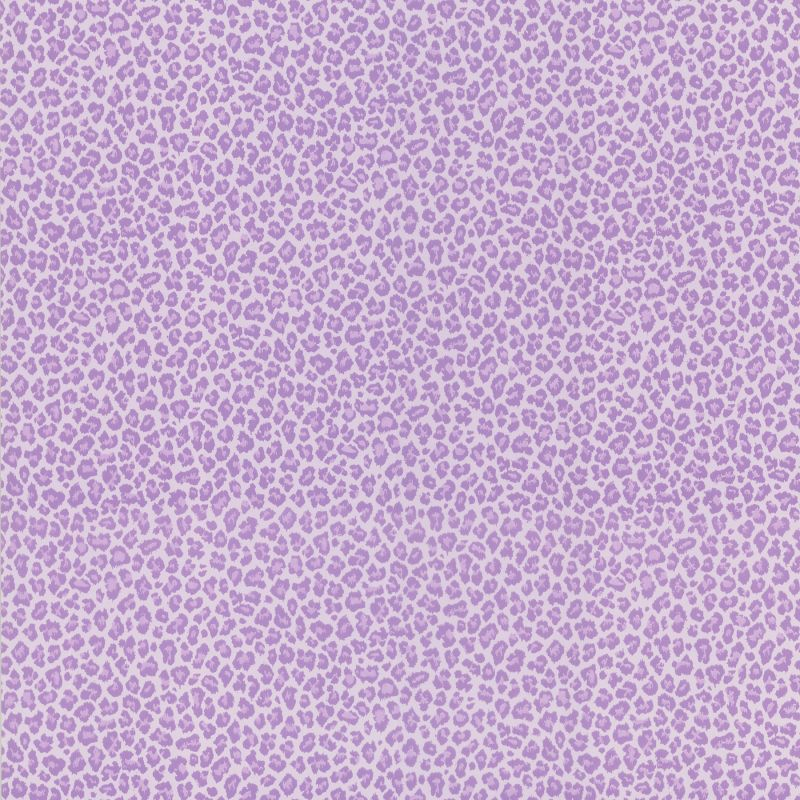 Brewster 443-62507 Sassy Purple Cheetah Print Wallpaper Purple Home